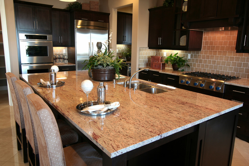 Discount Window Treatments Kitchen Traditional with Cabinets Complete Kitchen Remodeling Complete Remodeling Contractor Counter Counter Top Countertop Kitchen Kitchen
