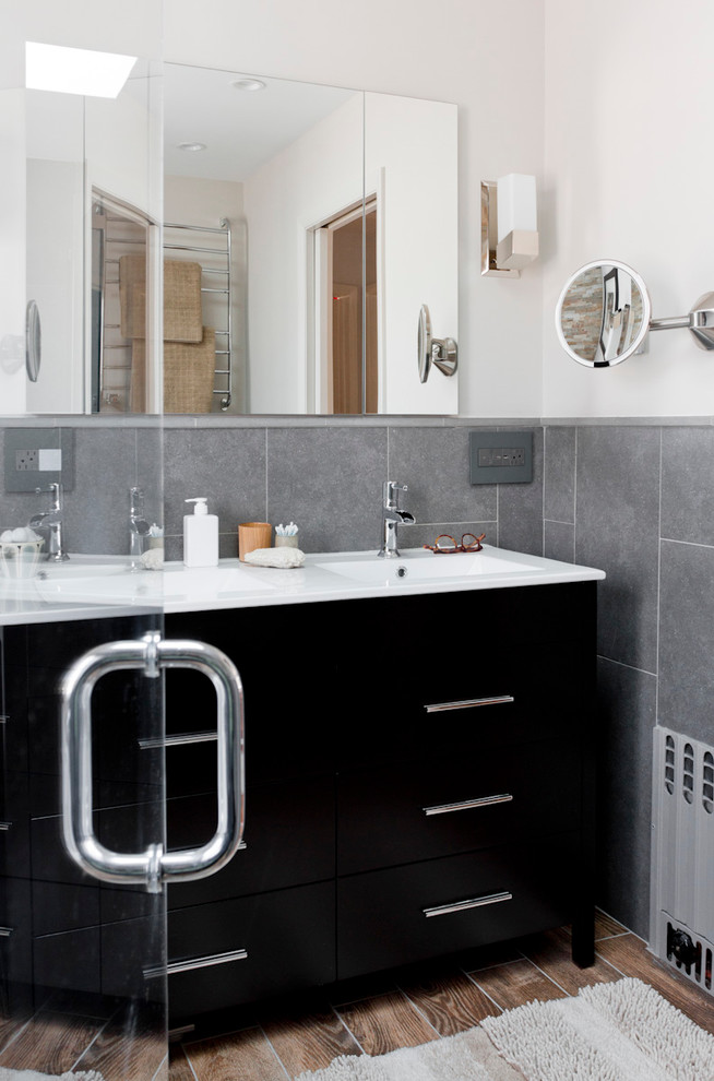 Double Sink Bathroom Vanity Bathroom with None 1