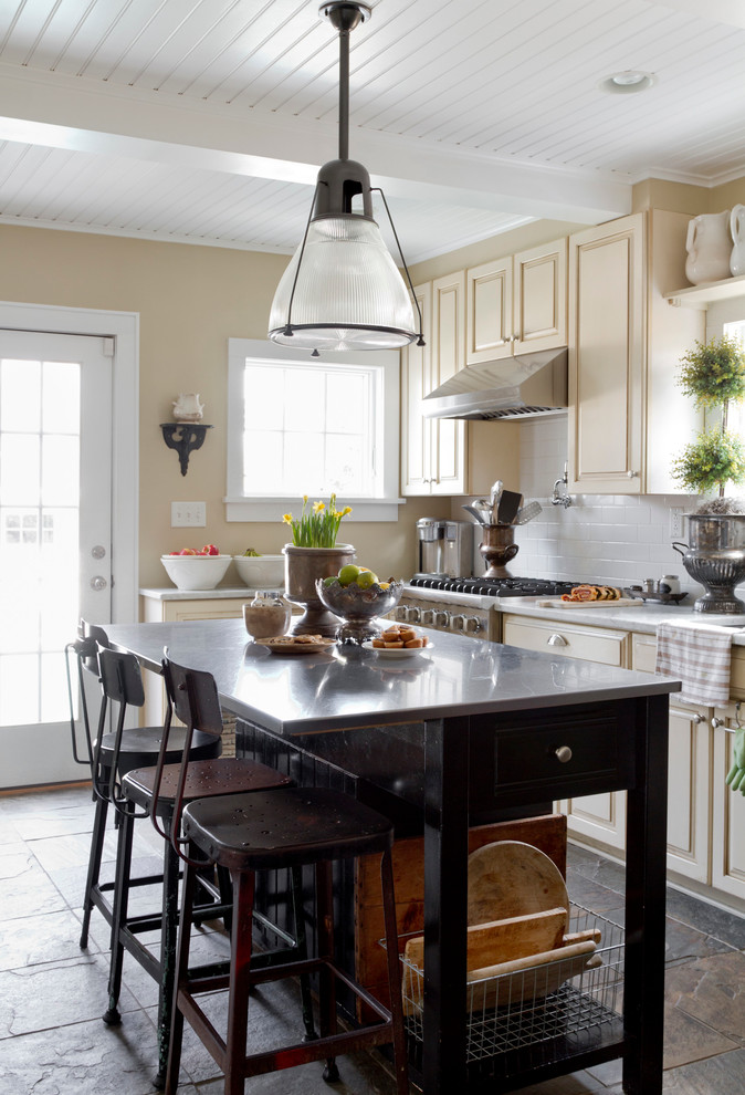 Drafting Stool Kitchen Eclectic with My Houzz