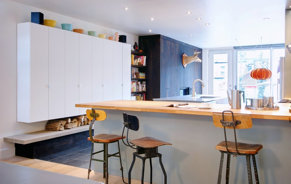Drafting Table Ikea Kitchen Contemporary with Bookshelves Butcher Block Drafting Stools Edge Pulls Firewood Storage Ikea Cabinetry Kitchen