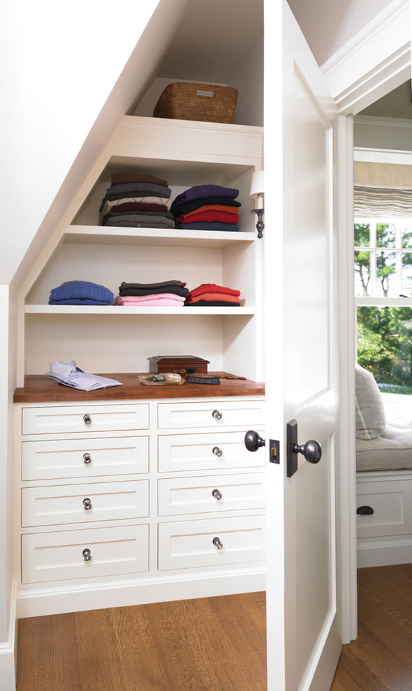 Drawer Knobs Closet Traditional with Beach Cottage Built in Shelves Built in Shelving Built Ins Closet Clothing Storage Coastal