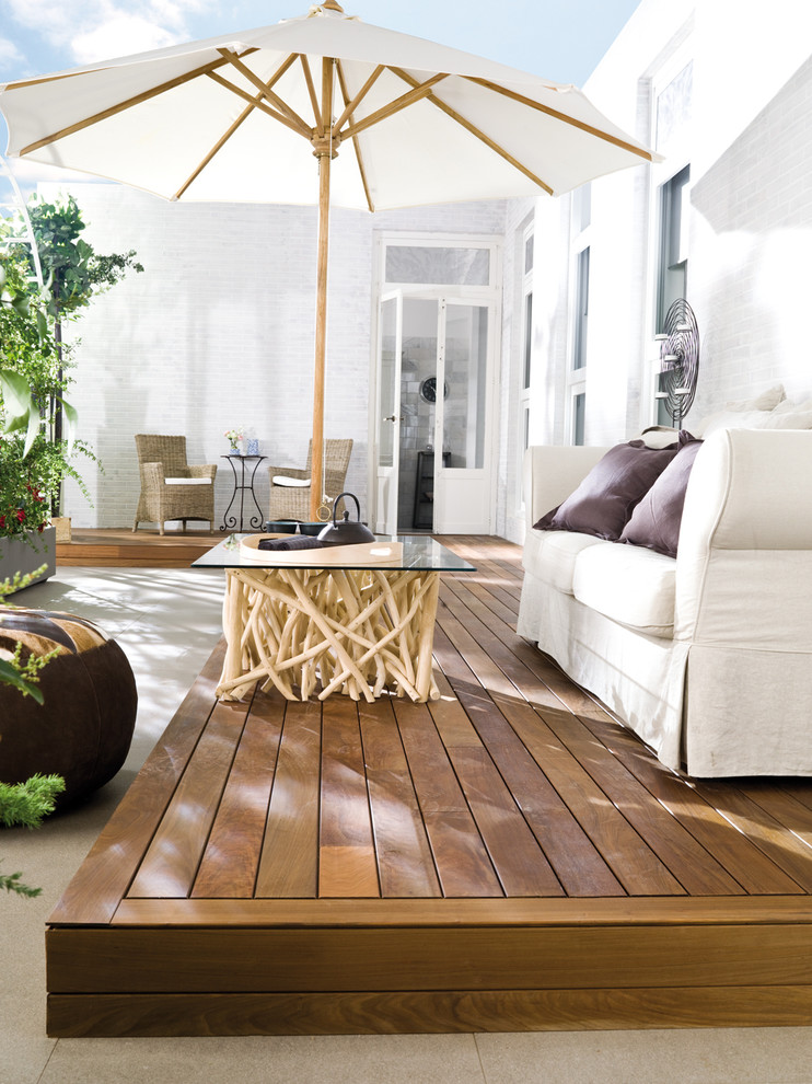 Driftwood Coffee Table Deck Contemporary with Iguazu Ipe Lantic Colonial Natural Wood Outdoor Decking Porcelanosa