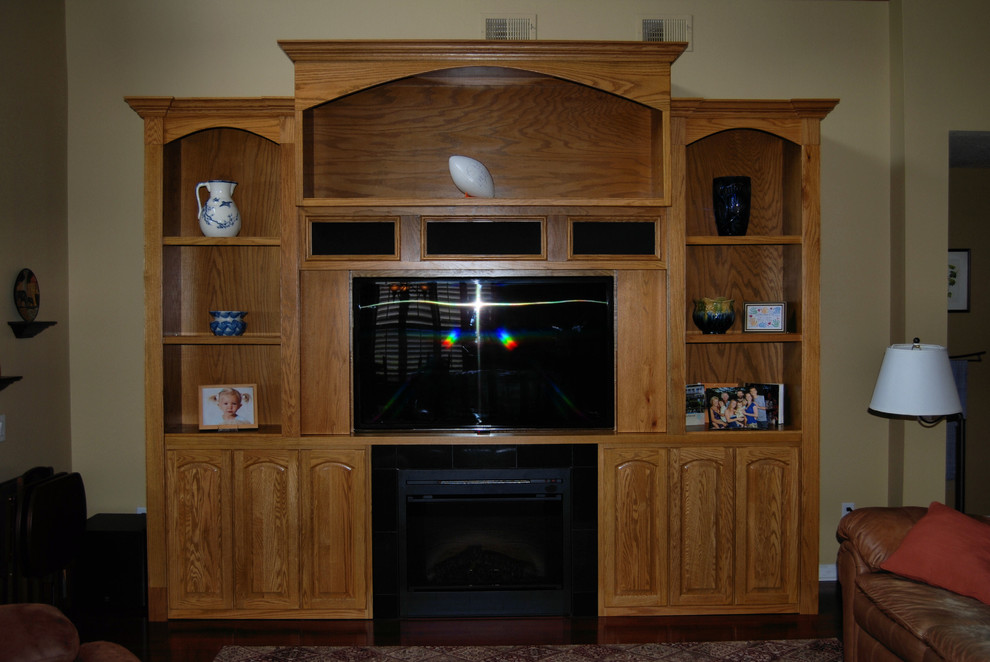 Electric Fireplace Entertainment Center Living Room with Av Consoles Built in Built in Media Storage Built in Storage Built