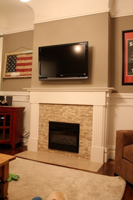 Electric Fireplace Insert Living Room Traditional with Custom Fireplace Install Custom Fireplace Surround Electric Fireplace Electric Fireplace Insert Stone