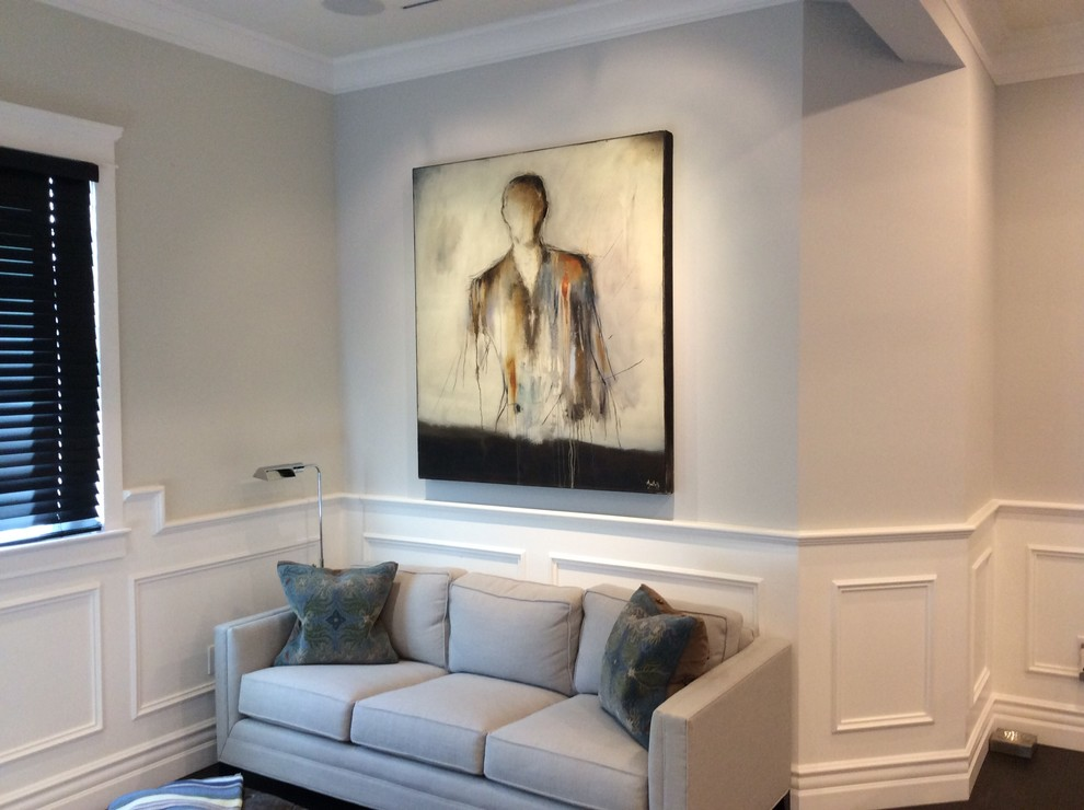 Electric Fireplace Reviews Family Room Traditional with Classic Design Contemporary Artwork