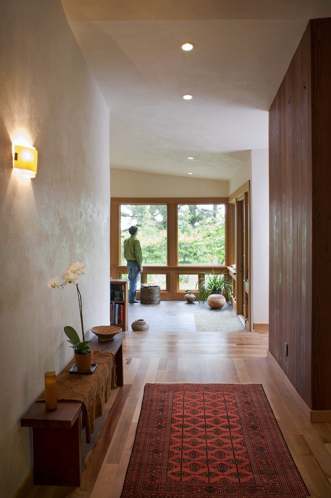 Entry Way Bench Entry Eclectic with Area Rug Ceiling Lighting Entry Bench Foyer Hallway Orchid Recessed Lighting Sconce