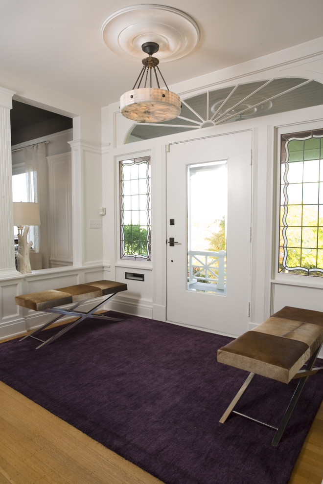 Entryway Benches Dining Room Transitional with Craftsman Traditional Transitional