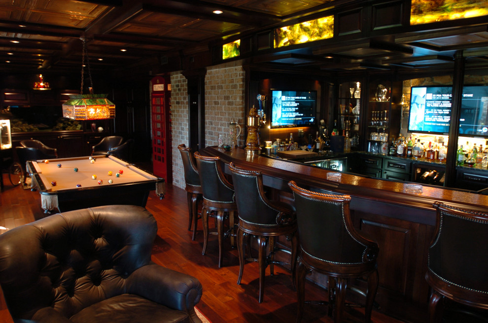 Extra Tall Bar Stools Basement Traditional with English Pub