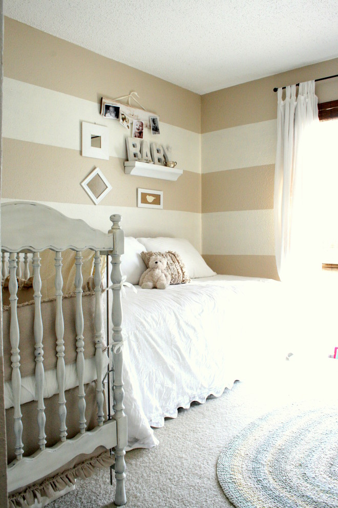 Extra Wide Baby Gates Nursery Traditional with Curtains Day Bed Drapes Horizontal Stripes Ideas for Baby Boy Nursery Neutral