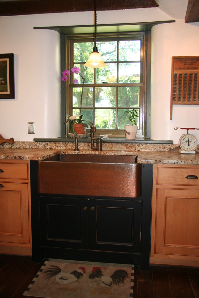 Farm House Sink Kitchen with Copper Copper Sink Custom Kitchen Sink Superior Woodcraft