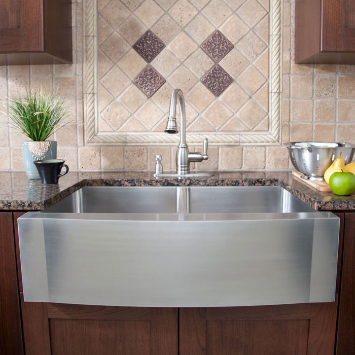 Farmhouse Sink Kitchen Contemporary with Copper Sink Double Sink Farmhouse Sink Kitchen Sink Oval Sink Stainless Steel
