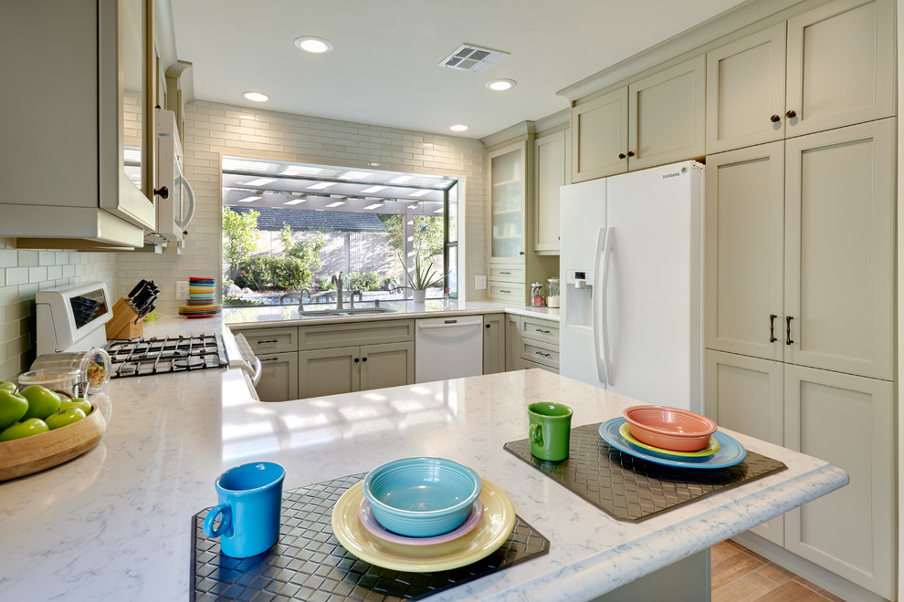 Fiestaware Sale Kitchen Traditional with Baking Station Black Hardware Breakfast Area Columbia Cabinets Columbia Frameless Cabinets Crown