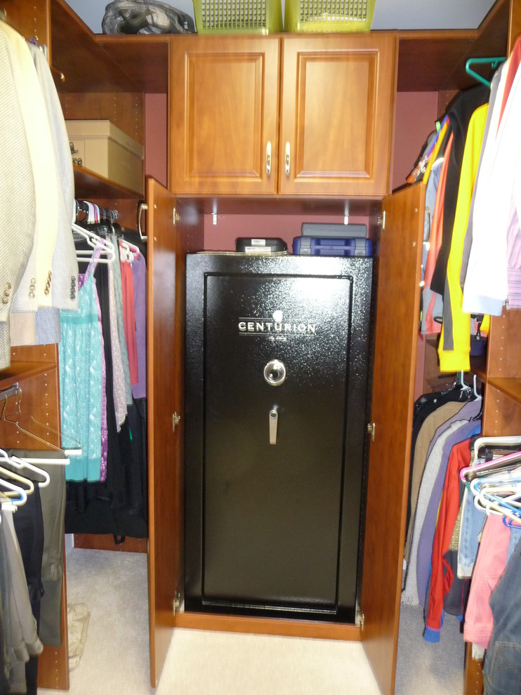 Fireproof Safe Closet Contemporary with Built in Safe Double Wide Safe
