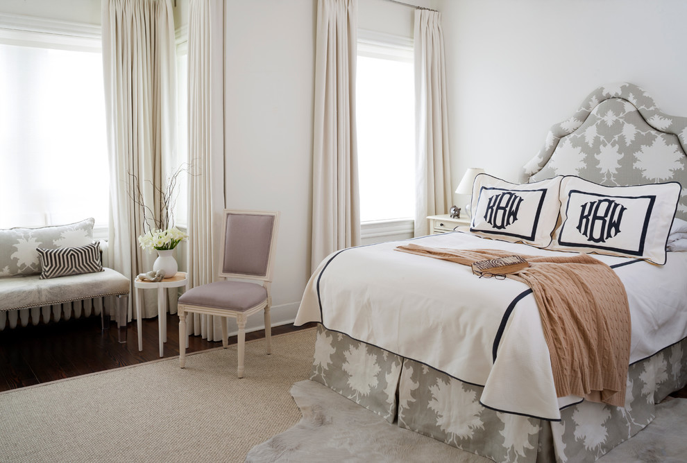 Flannel Sheets Bedroom Traditional with Accent Chair Accent Rug Beds Headboards Bench Headboards Lavender Monogram Silver Accents