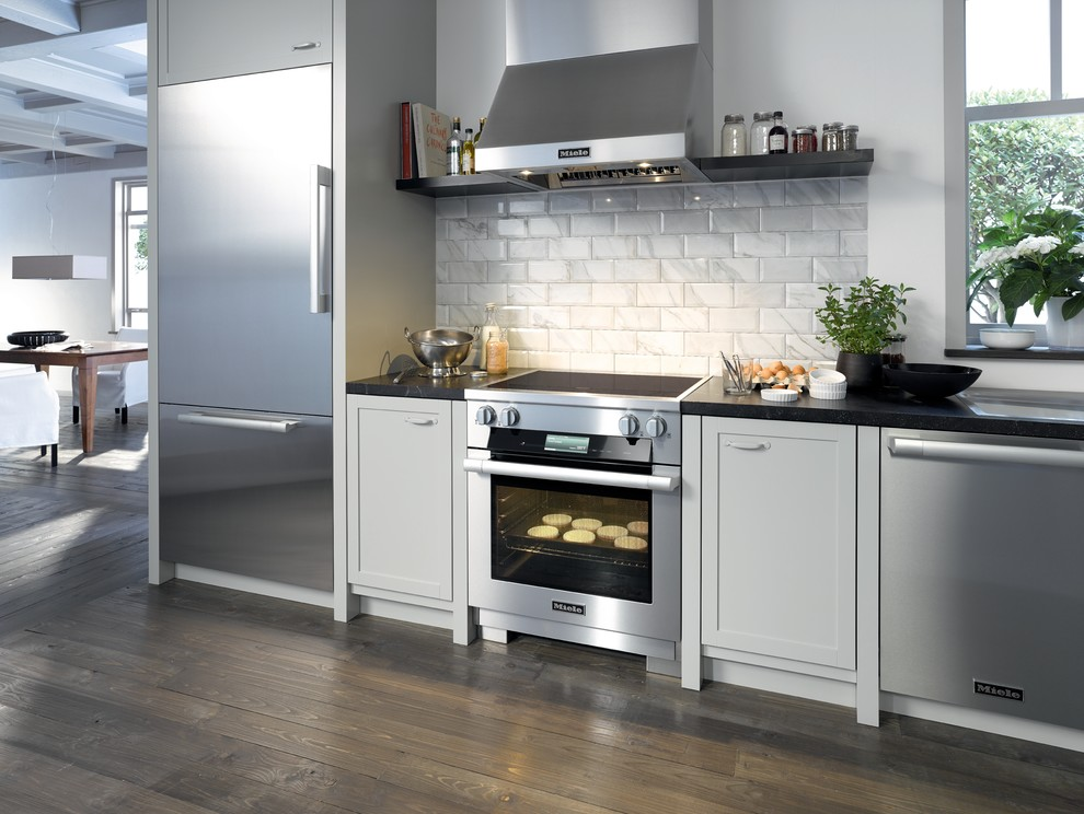 Floating Wall Shelf Kitchen Modern with None