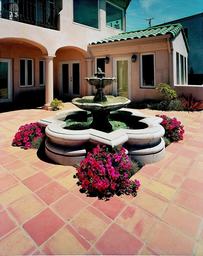 Flotec Sump Pump Landscape Mediterranean with Arabesque Arabesque Fountain Cast Stone Columns Floor Fountain Fountains Gfrc Columns Glass