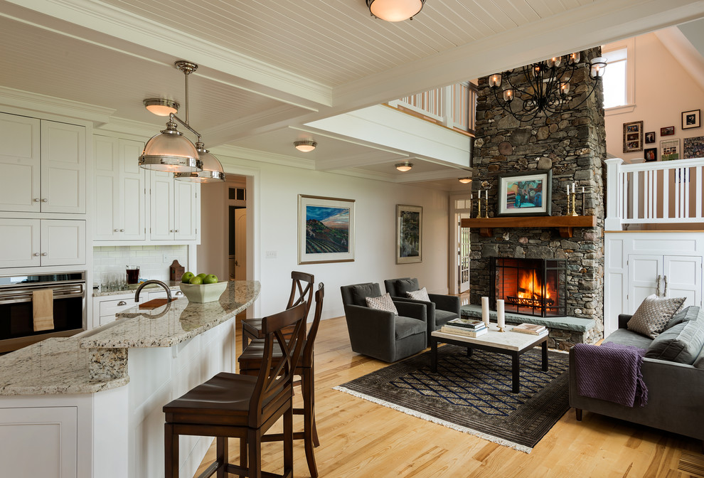 Flush Mount Ceiling Light Living Room Farmhouse with Area Rug Bar Stools Black Table and Chairs Ceiling Mounted Ceiling Paneling