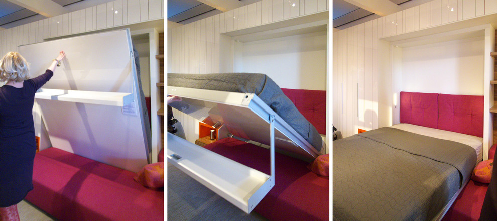 foldable bed Bedroom Modern with none