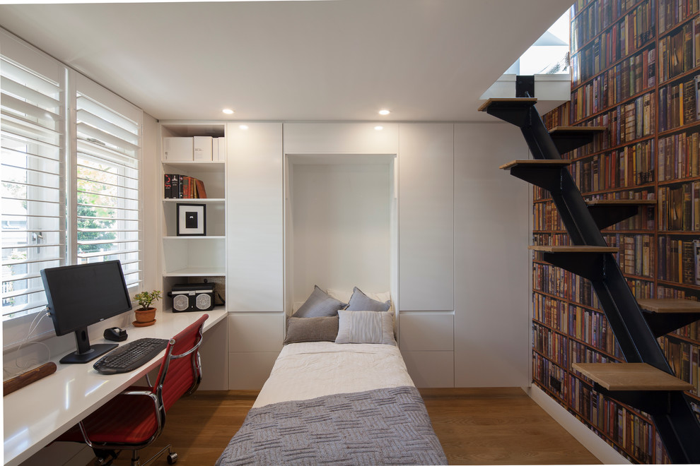 Folding Bed Frame Home Office Modern with Built in Storage Fold Down Bed Home Office Timber Shutters