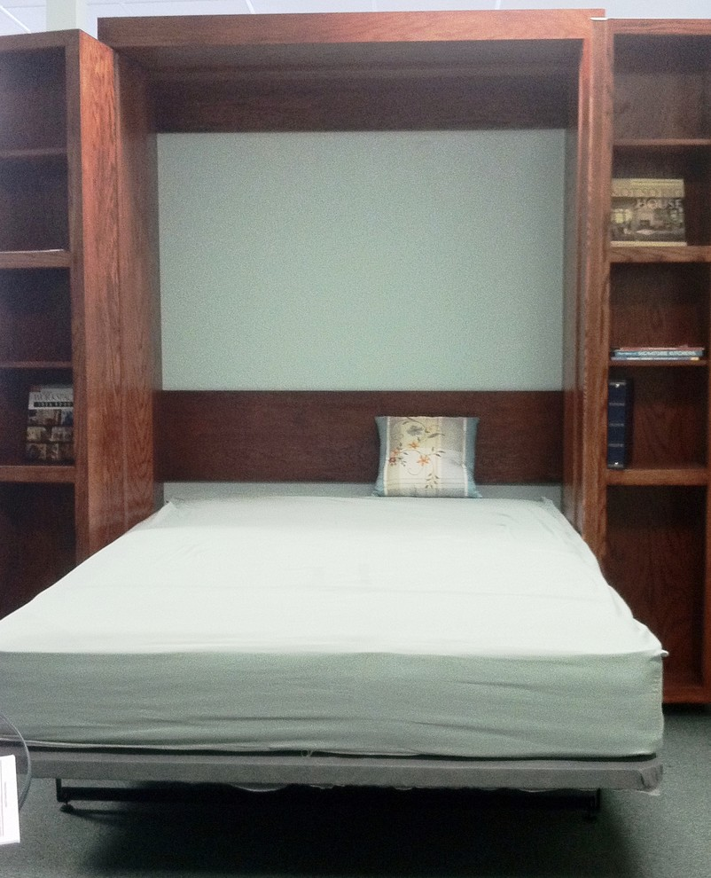 Folding Bookcase Bathroom Traditional with Bifold Bookcase Murphy Bed Library Wall Bed