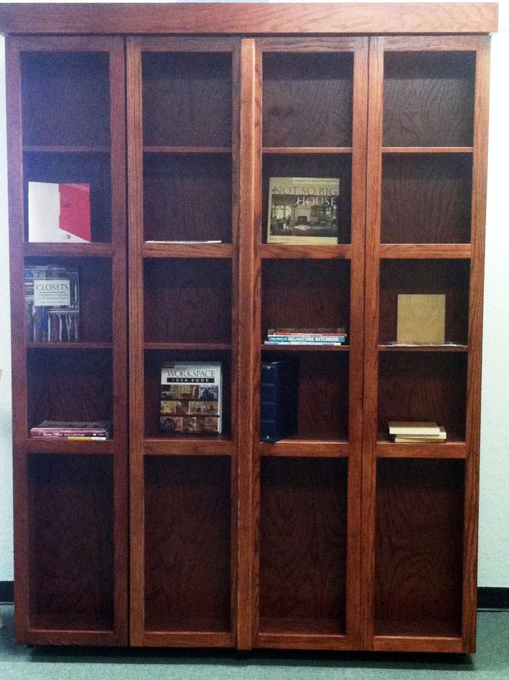 Folding Bookcase Bedroom Eclectic with Bifold Bookcase Murphy Bed Library Murphy Bed Library Wall Bed Stained Oak
