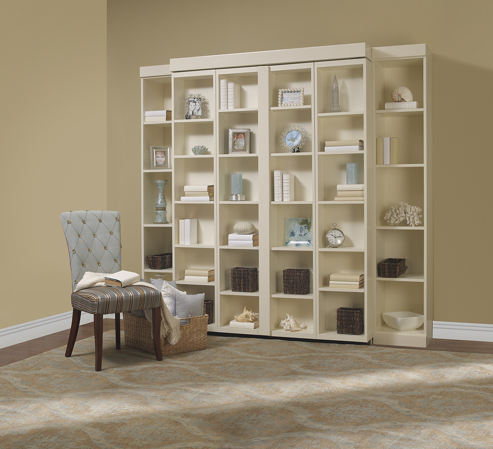 folding bookcase Living Room Contemporary with bookshelf bed disappearing bed disappearing beds hidden bed murphy beds