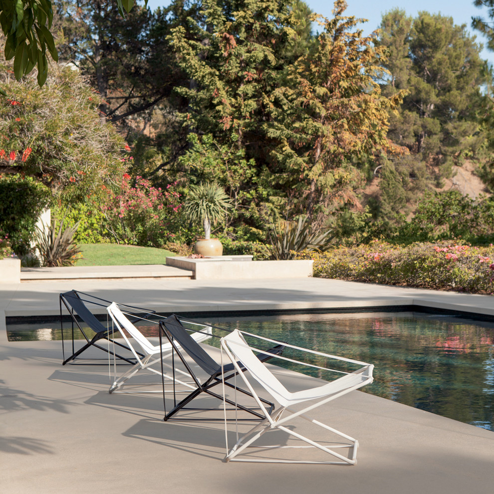 Folding Lounge Chair Patio Contemporary with None