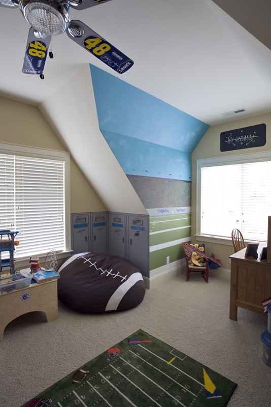 Football Rug Kids Contemporary with Categorykidsstylecontemporarylocationcharlotte