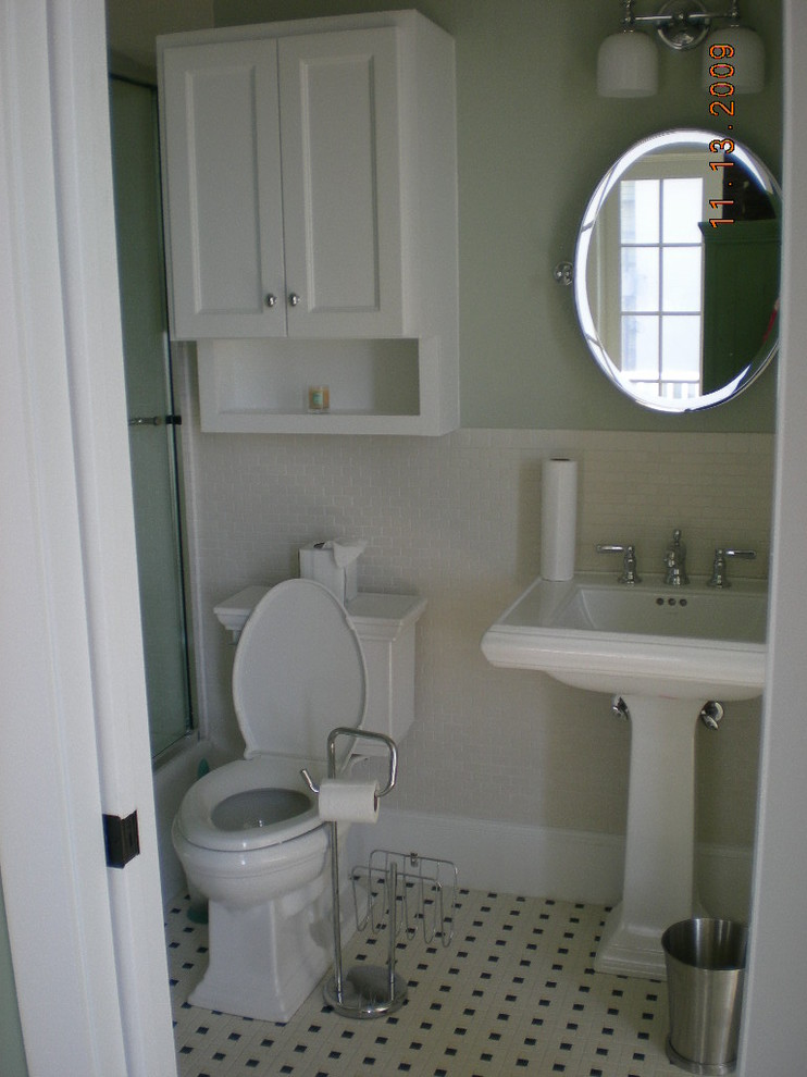 free standing toilet paper holder Bathroom Traditional with bath bathroom Beachtown coastal Custom Home Galveston homes interior new urbanism texas