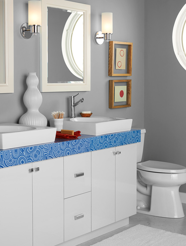 Freestanding Bathtubs Bathroom Eclectic with None