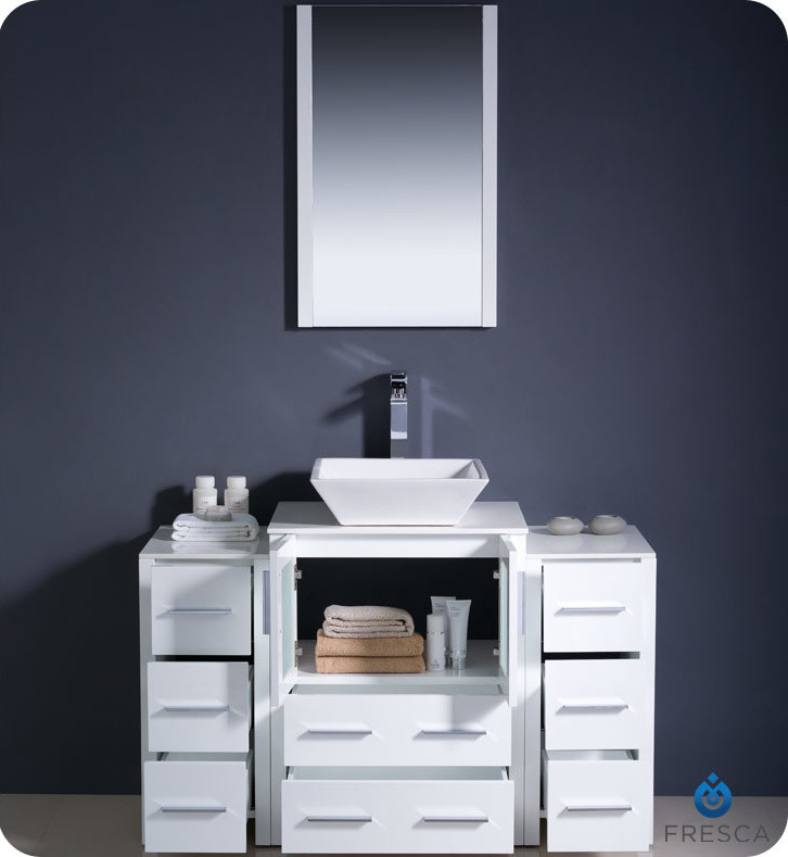 Fresca Vanity Bathroom Contemporary with Contemporary Bathroom Vanity Fresca Torino Fresca Vanity 3
