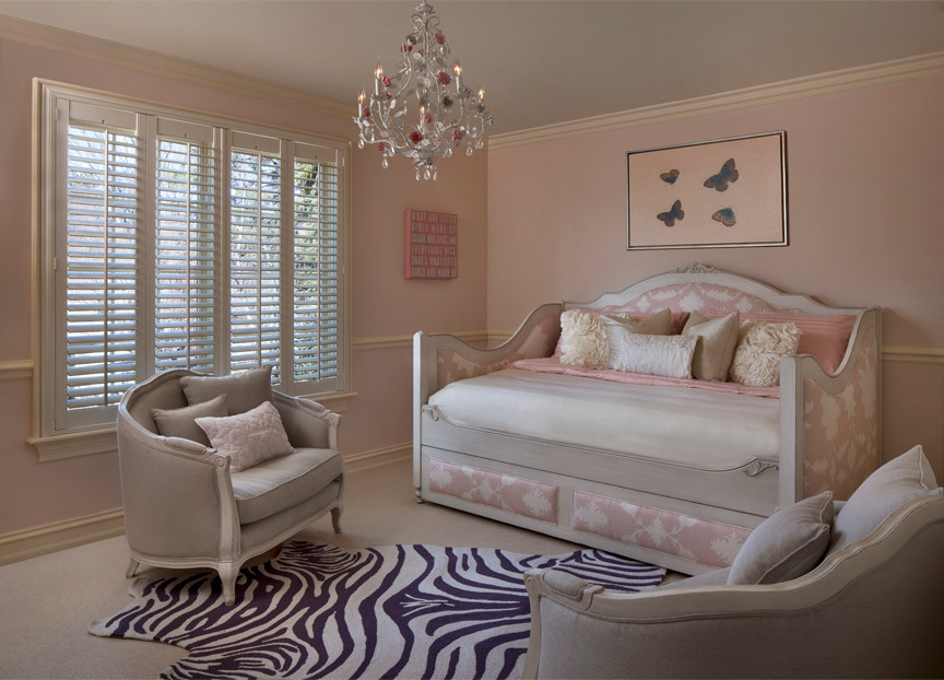 full bed with trundle Bedroom Transitional with custom daybed Custom Daybed with Trundle custom upholstered bed Custom-Made Daybed daybed