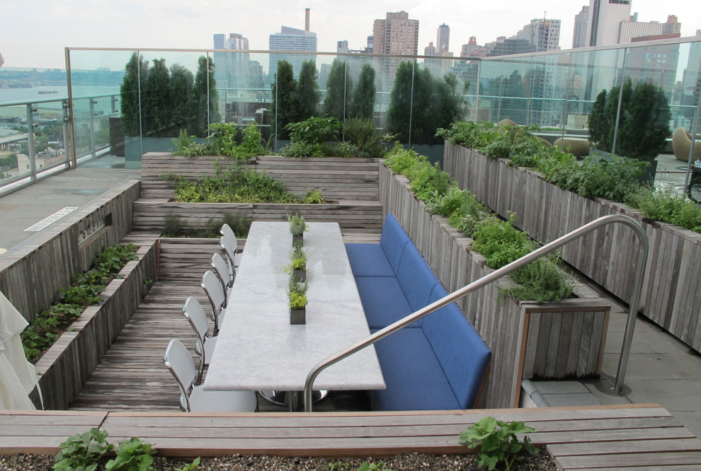 garden planter boxes Patio Modern with CategoryPatioStyleModernLocationNew York