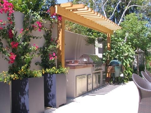 Gas Bbq Grills Landscape Contemporary with Bbq Gas Bbq Grill Outdoor Kitchen