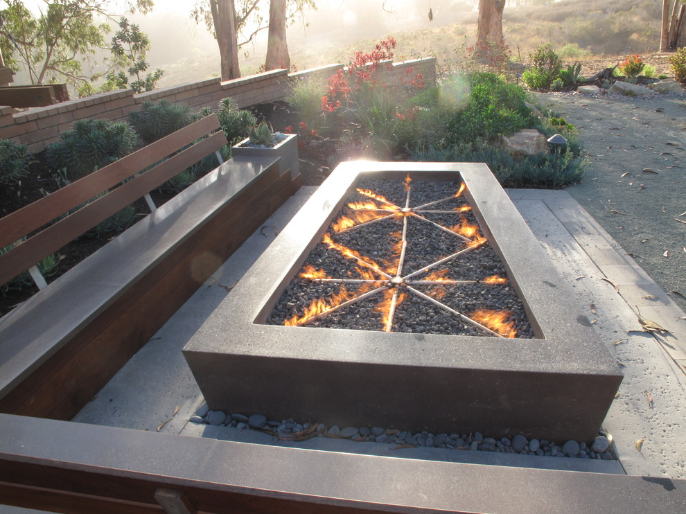 Gas Fire Pit Table Patio Craftsman with Backyard Retreat Cast Concrete Fire Pit Concrete Fire Pit Concrete Patio Fire