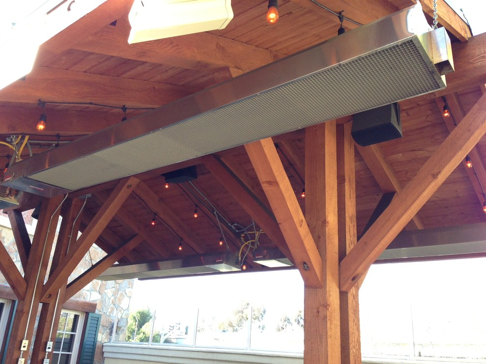 Gas Patio Heater Spaces Rustic With Commercial Heater Commercial Heaters  Commercial Heating Deck Heater Deck Heaters