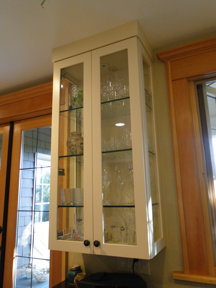 Glass Curio Cabinets Kitchen Transitional with Custom Design Customer Satisfaction Easy Kitchen Remodeling Fir Wood Windows Doors Home