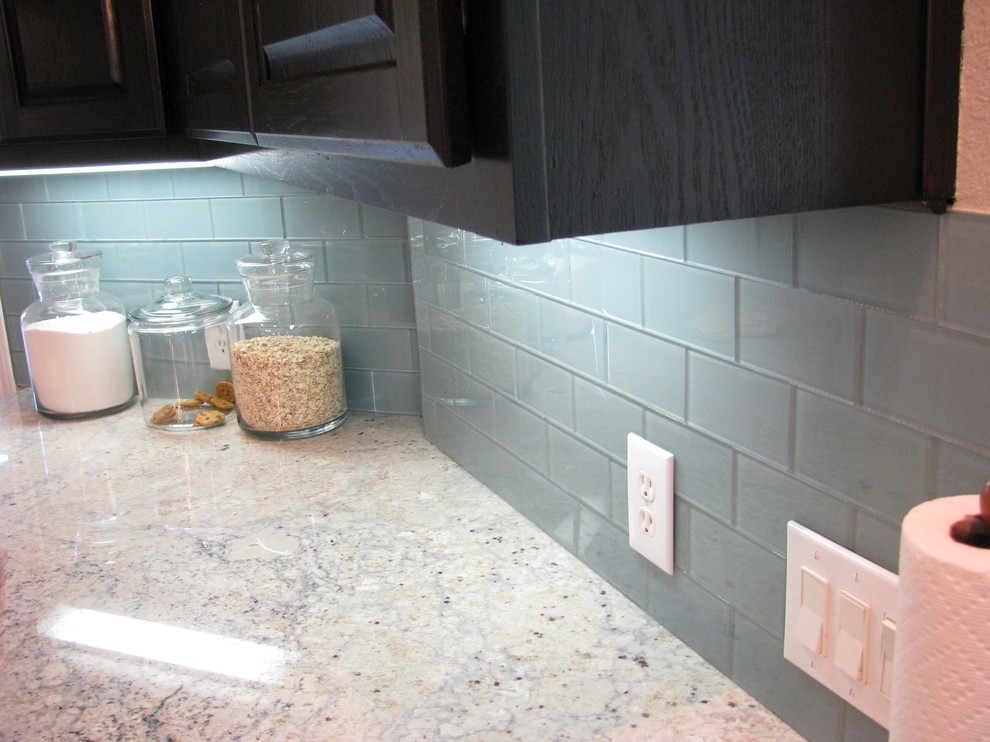 Glass Subway Tile Backsplash Kitchen Modern with Glass Backsplash Glass Subway Tile Glass Tile Glass Tile Kitchen Backsplash Kitchen