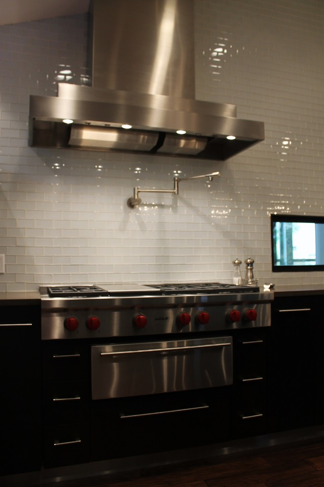 Glass Subway Tiles Kitchen Modern with Categorykitchenstylemodernlocationaustin