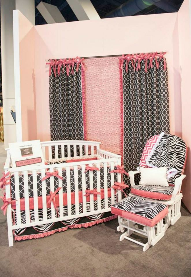Glider Rocker Spaces Traditional with Black Bow Tie Bumper Chair and Half Glider Crib Sheet Crib Skirt