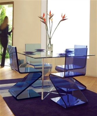 Gliding Chair Dining Room Contemporary with None