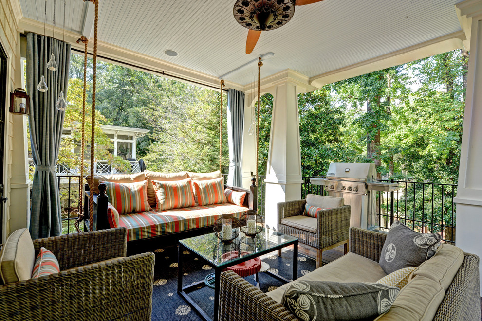 Gorilla Swing Sets Porch Traditional with Beadboard Beadboard Ceiling Candles Ceiling Fan Curtain Panels Daybed Drapery Glass Coffee