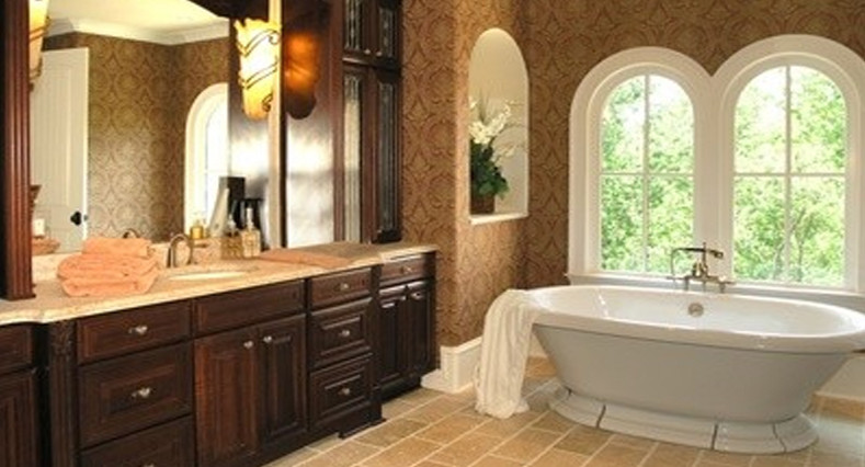 Granite Vanity Tops Bathroom Traditional with None 2