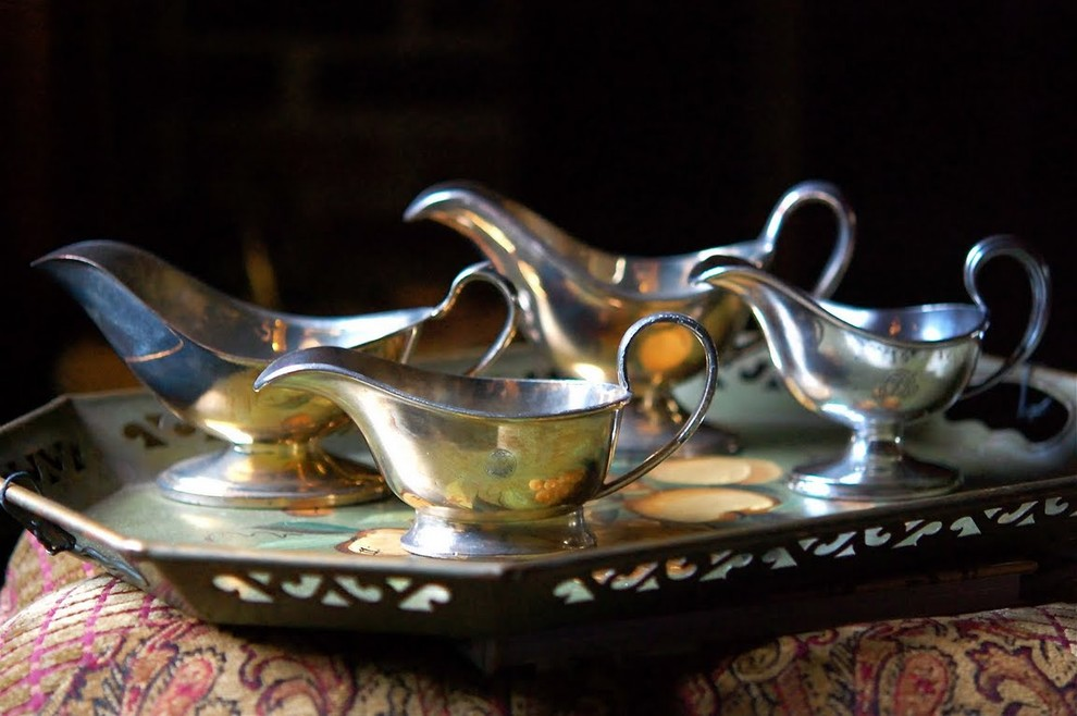 Gravy Boat Dining Room Traditional with None