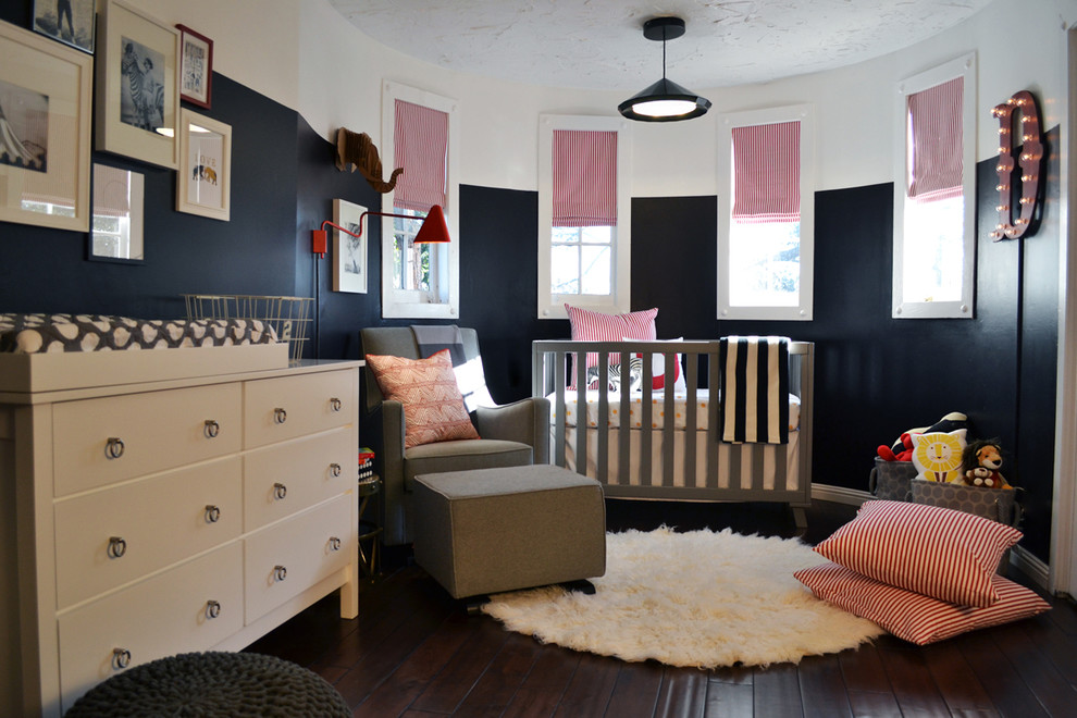 Grey Cribs Kids Transitional with Americas Next Top Model Nursery