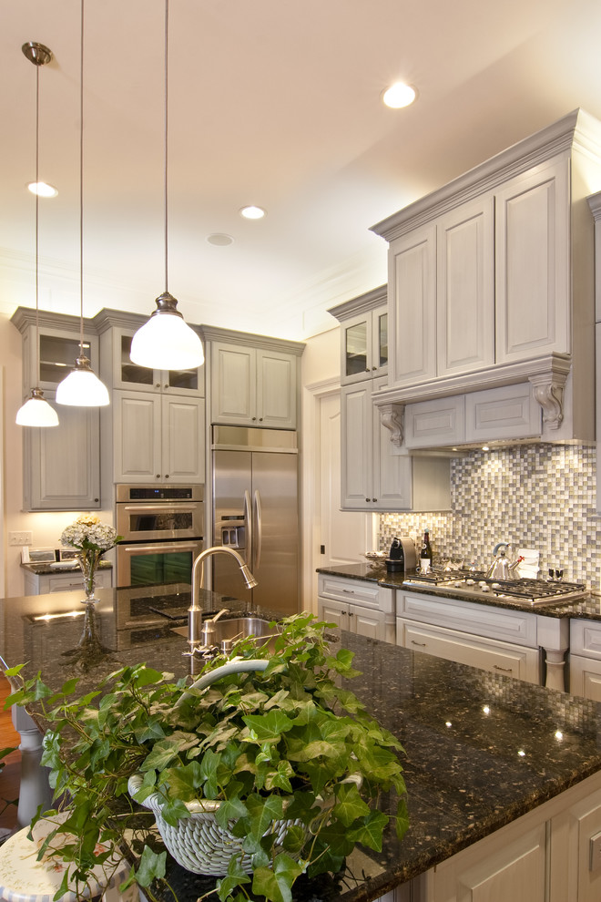 Grey Cribs Kitchen Traditional with Bamboo Hardwo Bamboo Hardwood Flooring Breakfast Bar Contemporary Contemporary White Kitchen Copper