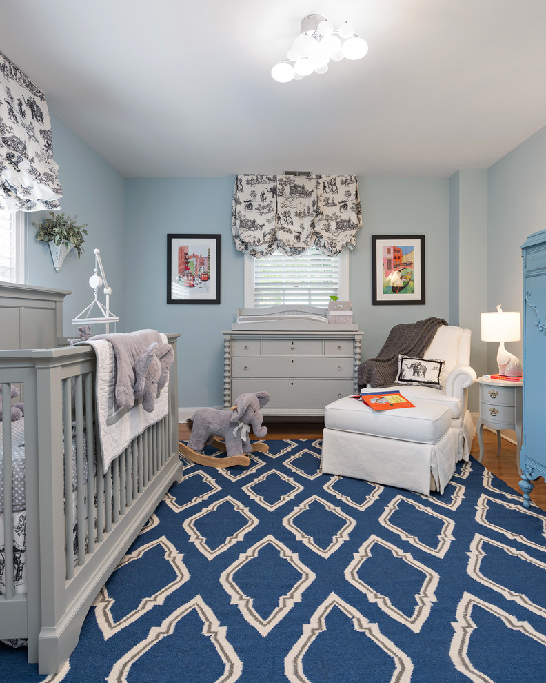 grey cribs Nursery Traditional with blue and white area rug blue armoire CEILING LIGHT diamond rug gray