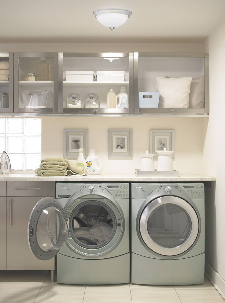 Haier Washing Machine Laundry Room Contemporary with Categorylaundry Roomstylecontemporarylocationcharlotte