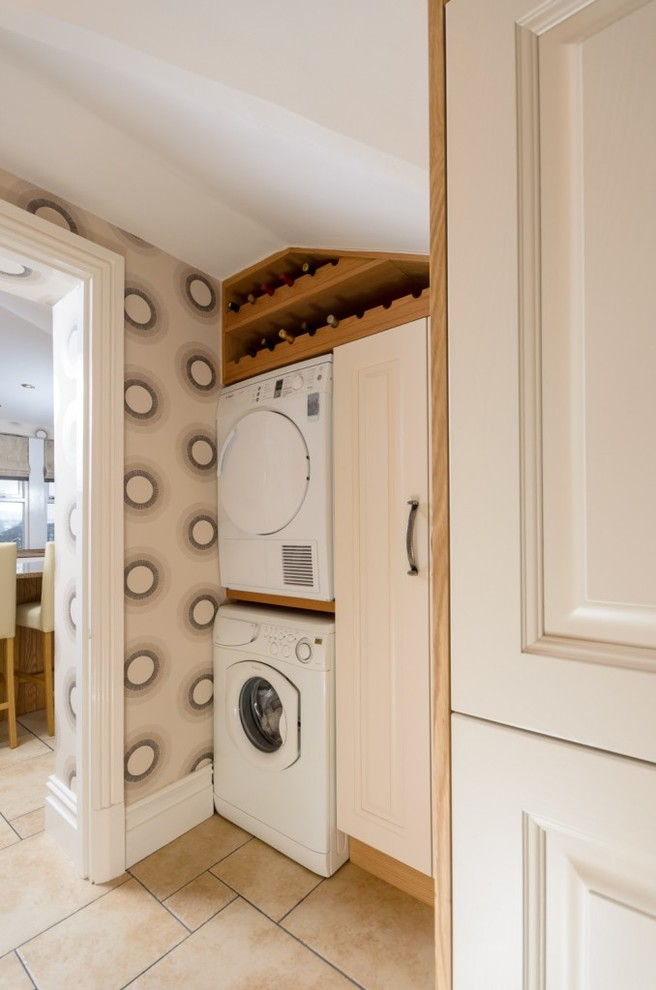 Haier Washing Machine Laundry Room Traditional with Bespoke Kitchen Bespoke Kitchens Bespoke Wardrobe Bespoke Wardrobes Designer Kitchen Designer Kitchens