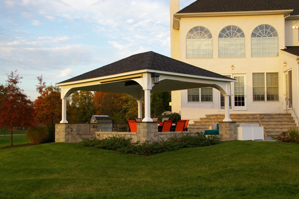 Henri Fountains Patio Contemporary with Bar Seating Bucks County Concrete Pavers Doylestown Ep Henry Fountain Granite Landscape2
